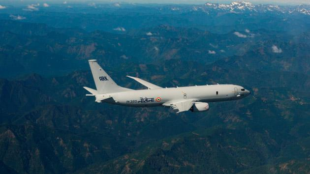 Boeing P-8I LRMRASW Aircraft joins Indian Navy