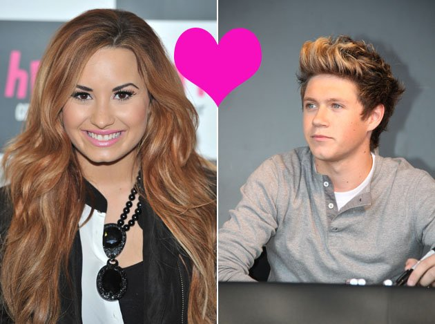 Niall Horan and Demi Lovato