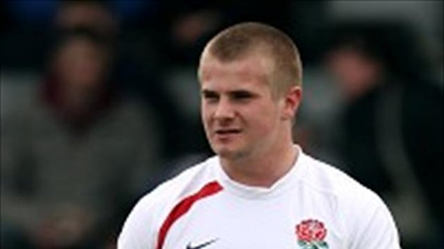 Sam Edgerley scored the vital try as England claimed victory