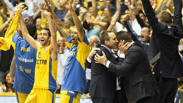 Basketball - Maccabi join Barcelona in Euroleague Final Four