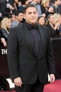 Jonah Hill arrives at the 84th Annual Academy Awards held at the Hollywood & Highland Center in Hollywood on February 26, 2012 -- Getty Images