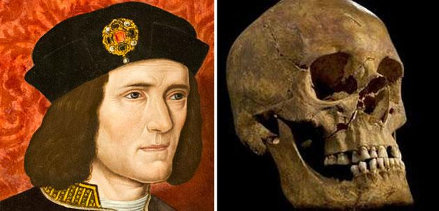 Experts said the skull found was that of Richard III 'beyond reasonable doubt'