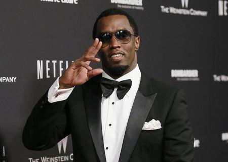 """Sean """"Diddy"""" Combs arrives at The Weinstein Company & Netflix after party in Beverly Hills"""