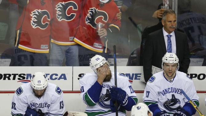 Vancouver Canucks v Calgary Flames - Game Six