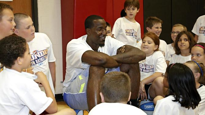 Thunder Basketball Clinic