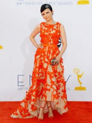 Emmy Fashion 2012: Ginnifer Goodwin's Red Monique Lhuillier Gown Is a Winner