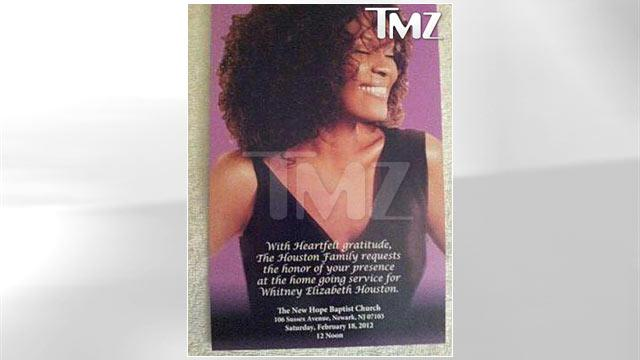 Whitney Houston to Be Buried Sunday