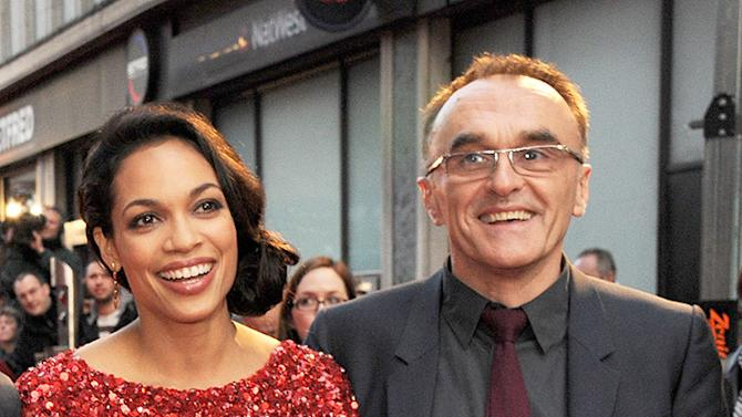 Rosario Dawson and Danny Boyle