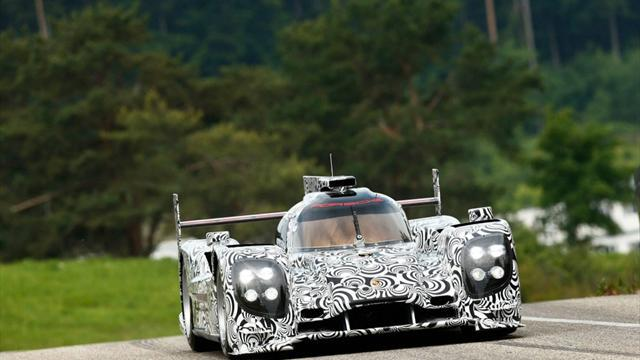 Le Mans 24 Hours - Porsche contender runs for first time