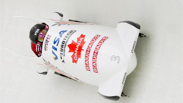 Bobsleigh - Humphries goes from tenth to first to win in St Moritz
