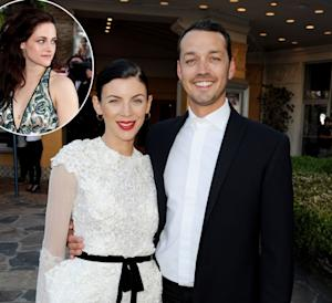 Liberty Ross and her husband director Rupert Sanders seen at a screening of 'Snow White and The Huntsman' in Los Angeles on May 29, 2012/ inset: Kristen Stewart -- Getty Images