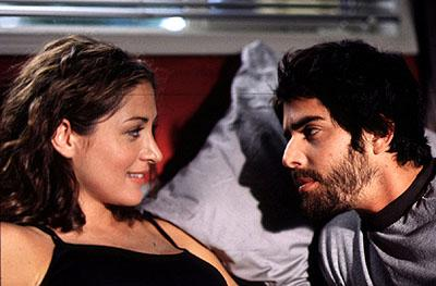 Sasha Alexander and Adam Goldberg in Lions Gate's All Over The Guy