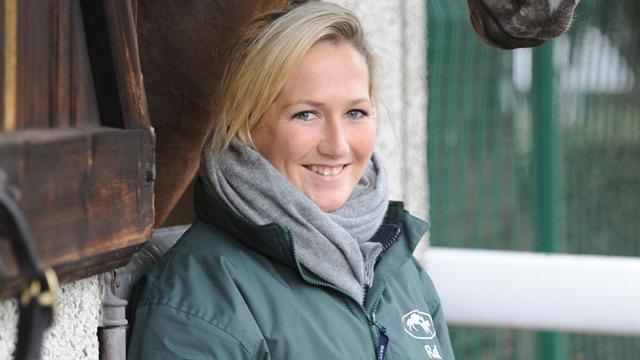 Equestrian - Recovering British eventing star Collett walks