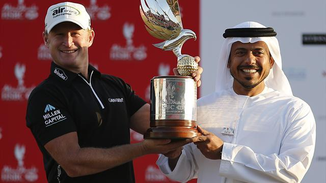 Golf - Abu Dhabi win proves Donaldson was right not to retire