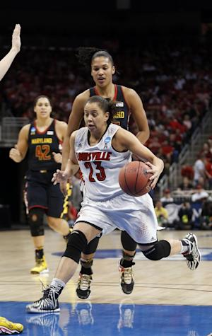 Maryland tops Louisville 76-73, reaches Final Four