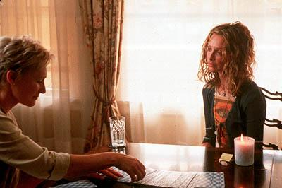 Elaine ( Glenn Close ) and Christine ( Calista Flockhart ) in MGM's Things You Can Tell Just By Looking At Her