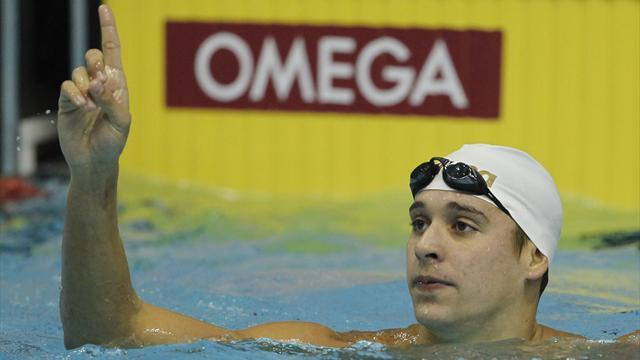 Le Clos wins at World Cup meet in Dubai