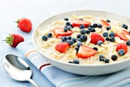 Delicious, healthy, and fast oatmeal.