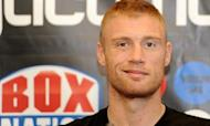Freddie Flintoff Admits Boxing Bout Nerves
