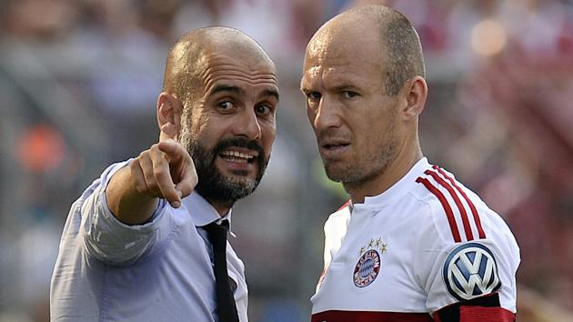 Arjen Robben has little doubt Pep Guardiola will come good at Manchester City after experiencing a difficult period earlier this season.