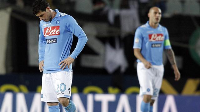 Serie A - Napoli docked two points, fined over betting scandal