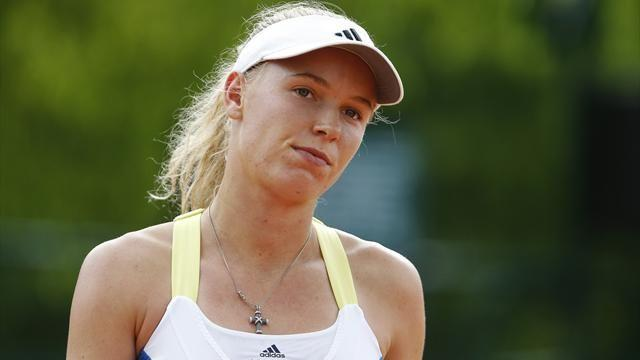 Tennis - Wozniacki suffers shock defeat in Eastbourne semis