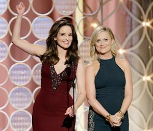 Tina Fey, Amy Poehler Joke About Supermodel Vaginas, Prosthetic Genitals at Golden Globes: Their Best Quips
