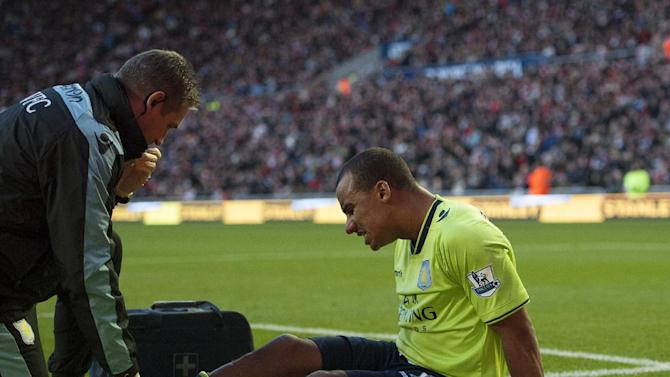 Gabriel Agbonlahor hit the only goal of the game