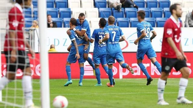 Hoffenheim break duck, Stuttgart fight back