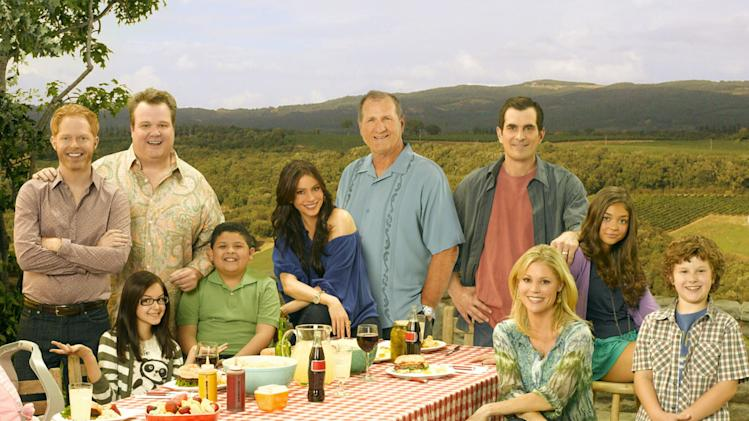 "The cast of ""Modern Family ."""
