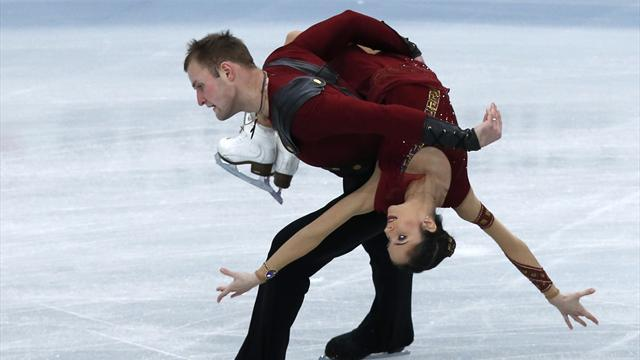 Figure Skating - Bazarova and Larionov claim maiden Grand Prix victory