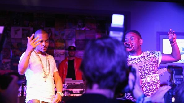 T.I. and Kendrick Lamar