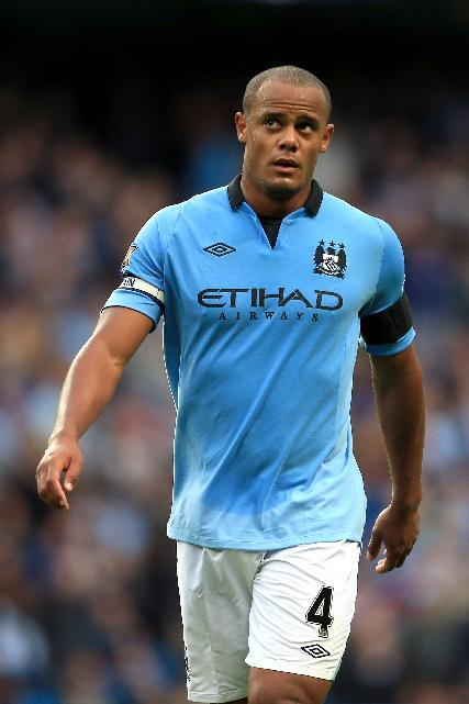 Vincent Kompany is happy with his current form