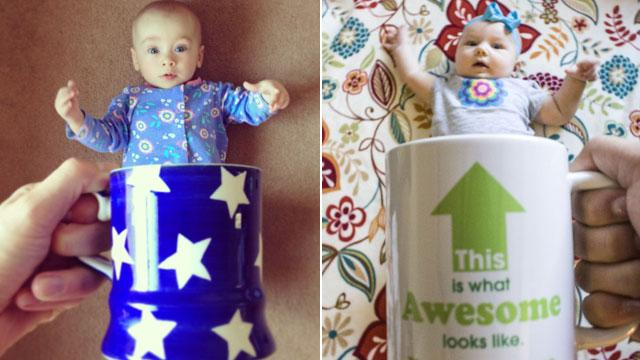 Baby Mugging: Who Knew Babies in Mugs Were So Cute