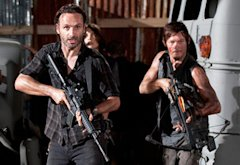 Andrew Lincoln, Norman Reedus | Photo Credits: Gene Page/AMC