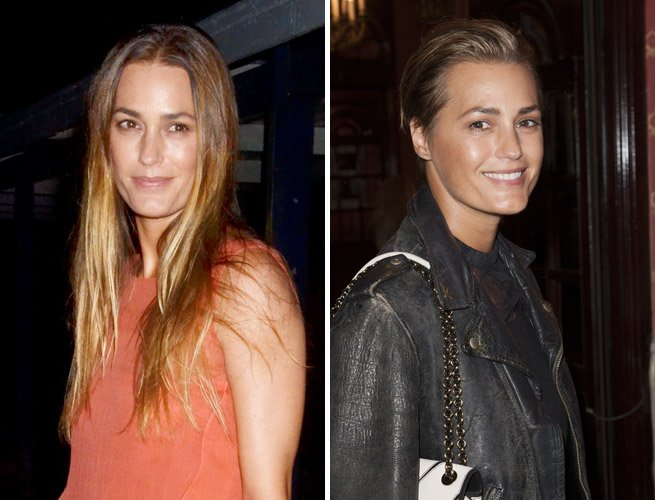 Yasmin Le Bon's Edgy New 'Do Proves Undercuts Are The Hottest Hair Trend