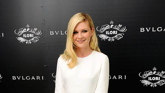 Kirsten Dunst Bulgari Collection