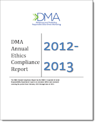 The #1 Email Marketing Lesson from the DMA 2013 Compliance Report image DMA report1