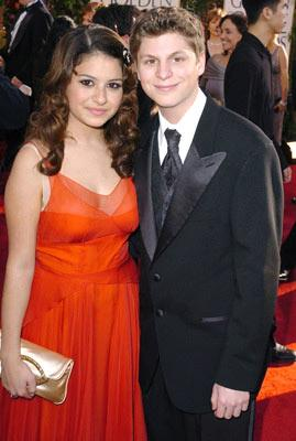 Alia Shawkat and Michael Cera 62nd Annual Golden Globe Awards - Arrivals Beverly Hills, CA - 1/16/05