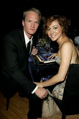 Neil Patrick Harris and Alyson Hannigan Governor's Ball Emmy Awards - 9/18/2005
