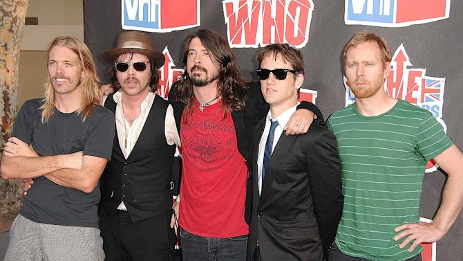 Foo Fighters VH Rock Honors
