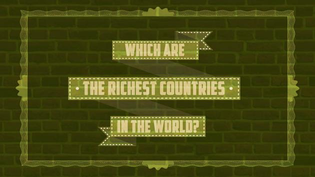 Which are the richest countries?