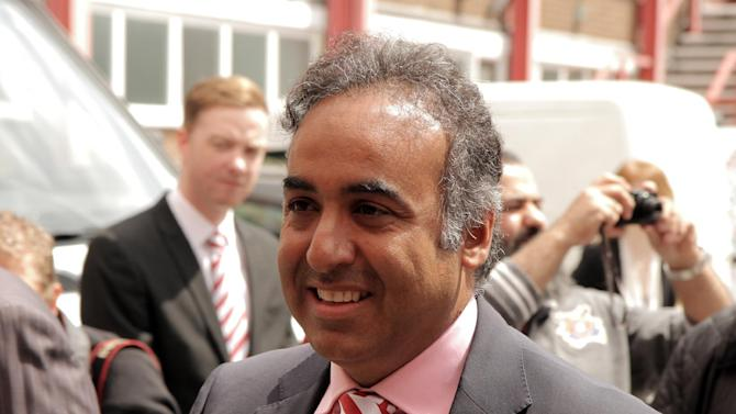 Fawaz Al Hasawi, pictured, will make more money available to boss Sean O'Driscoll