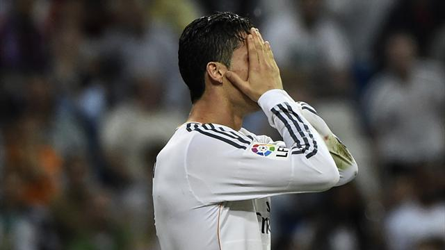 Liga - Ronaldo taken off due to muscle fatigue