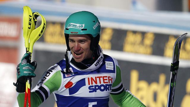 Alpine Skiing - Neureuther bests Hirscher again in Bormio