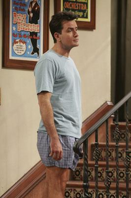 "Charlie Sheen as Charlie CBS' <a href=""/baselineshow/4746288"">""Two and a Half Men""</a>"