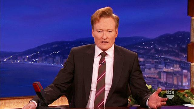 Conan's Surprising Movie Awards Admission