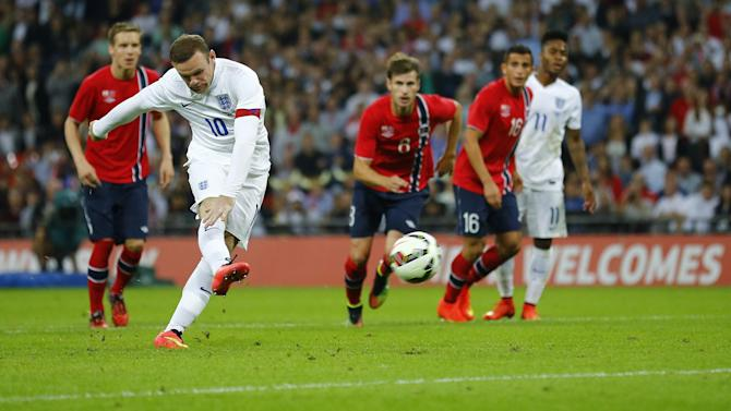 International friendlies - Dire England edge past Norway with Rooney penalty