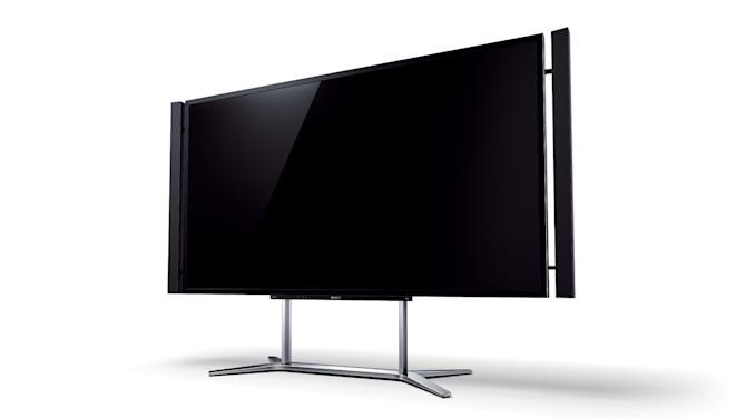 FILE - This undated publicity image provided by Sony shows an  ultra-HD 4K TV set. High-definition TVs roughly quadrupled the resolution of the sets that came before them. Now, the industry is poised to do it again as Sony says its U.S. stores will, by December 2012, sell a TV set with four times the resolution of today's best HDTVs.  The new, restored and rebooted films from Sony Pictures are among the content coming pre-loaded on a video player bundled with Sony's first ultra-high-definition television, a massive 84-inch set that retails for $24,999.99 and features nearly four times the resolution of typical high-definition TVs. (AP Photo/Sony, File)