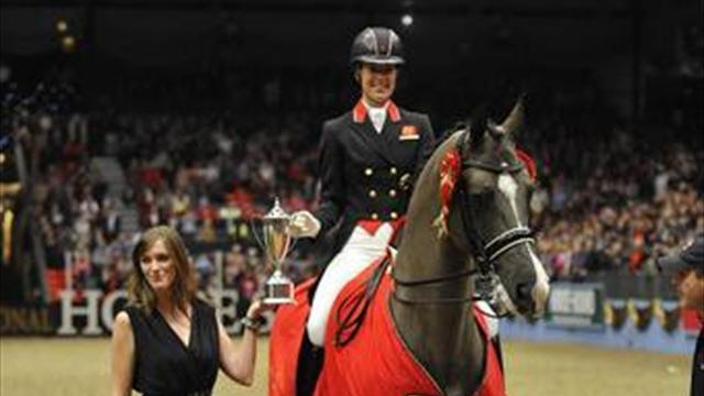 Equestrianism - Heroes welcome awaits Olympians in London